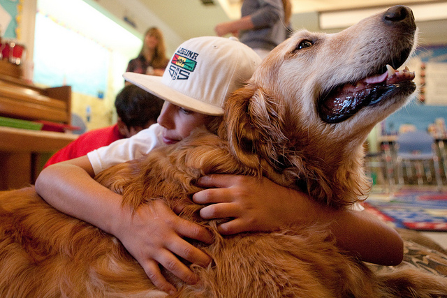 Pets Help Children with Autism